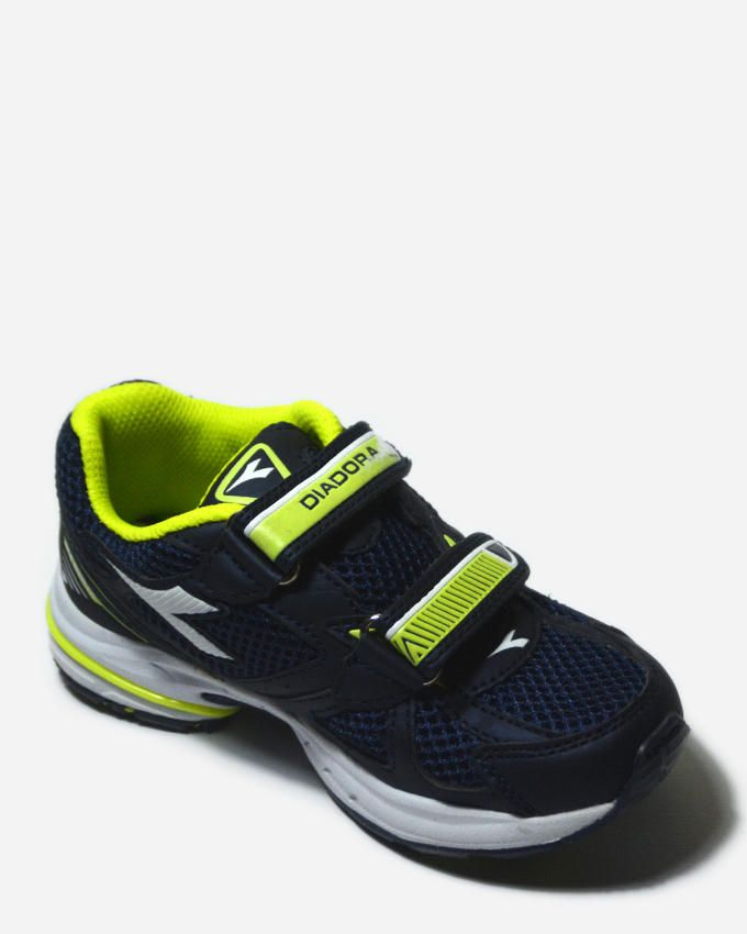 Diadora Shape 3 JR V running shoes - Navy &Lime