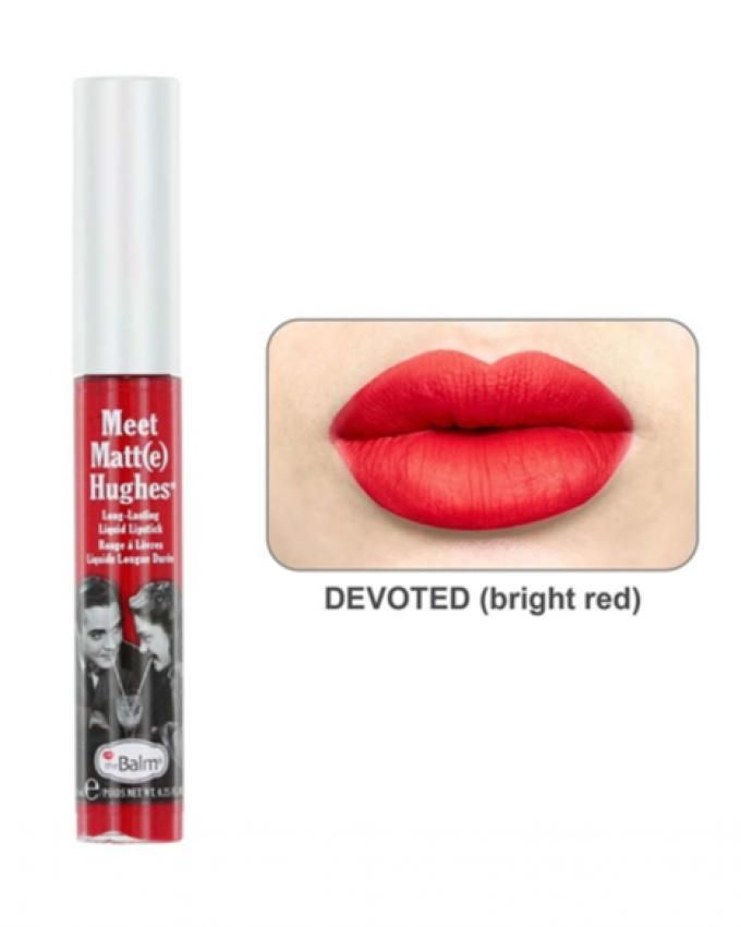 Meet Matt(e) Hughes Liquid Lipstick – Devoted