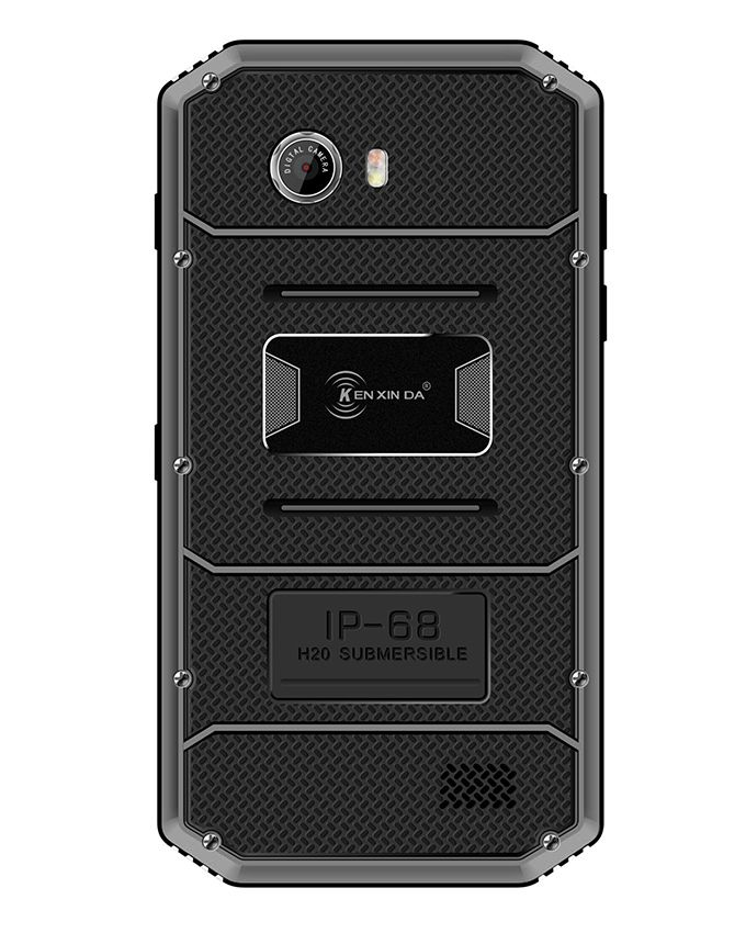 Proofings W8 - 5.5 Dual SIM 4G Rugged Mobile Phone - Black/Grey