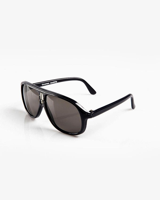 Ticomex Aviator Inspired Kids Sunglasses - Black