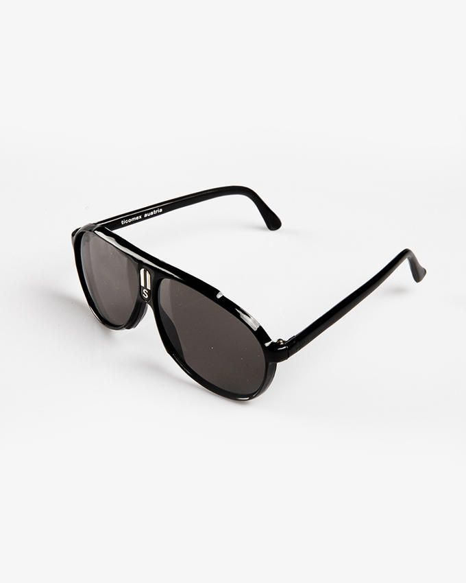 Ticomex Aviator Style Kids Sunglasses - Black