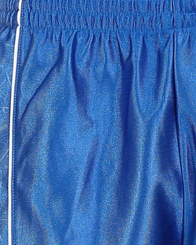 شورت رياضي يغلق بحبل - أزرق وأبيض