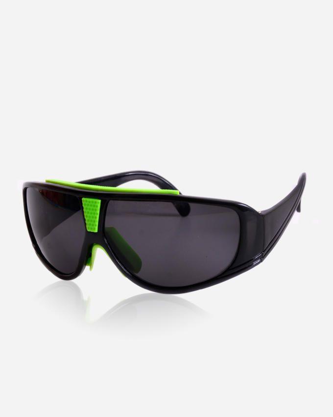 Ticomex Sports Unisex Sunglasses - Black x Green