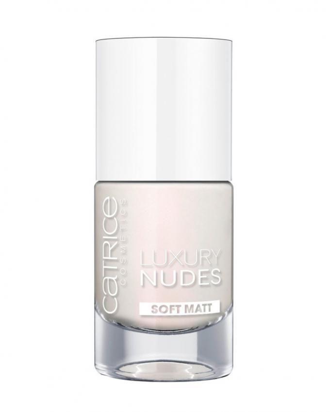 Luxury Nudes Soft Matt Nail Lacquer - 01 White & Bright