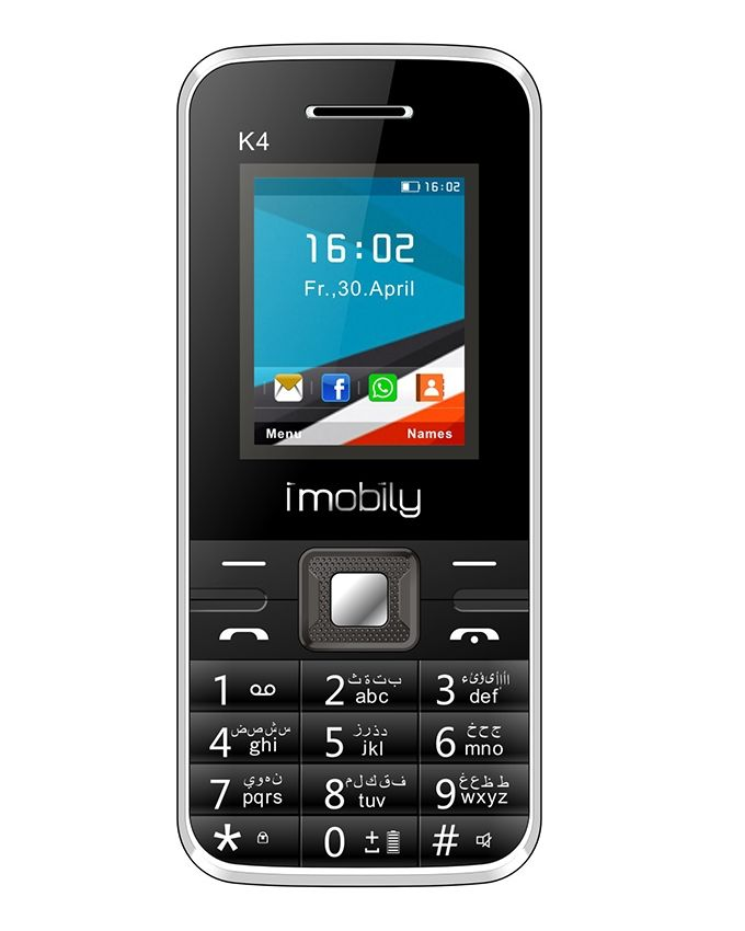 K4 - 1.77 Dual SIM Mobile Phone - Black
