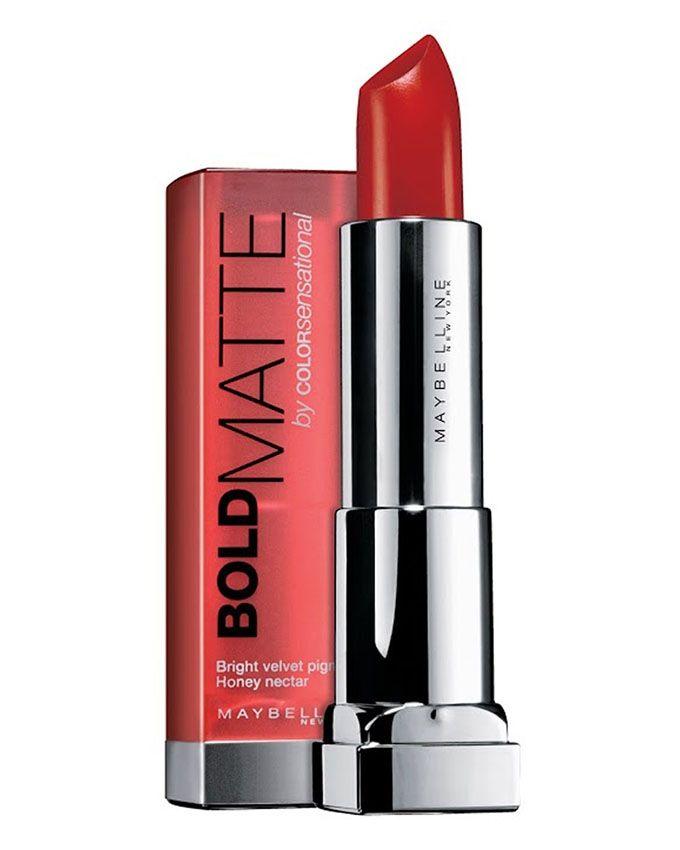 5 Color Sensational Bold Matte Lipstick - Faint for Fuschia