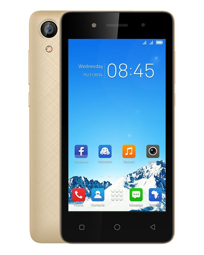W2 - 4.5 Dual SIM Mobile Phone - Gold