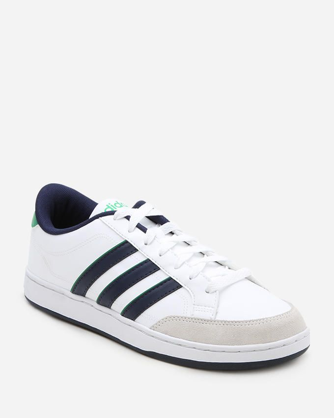 Adidas Courtset Trainers - White & Navy