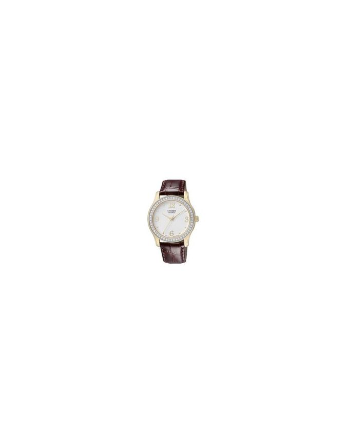 Citizen EL3012-00A Leather Watch - Brown