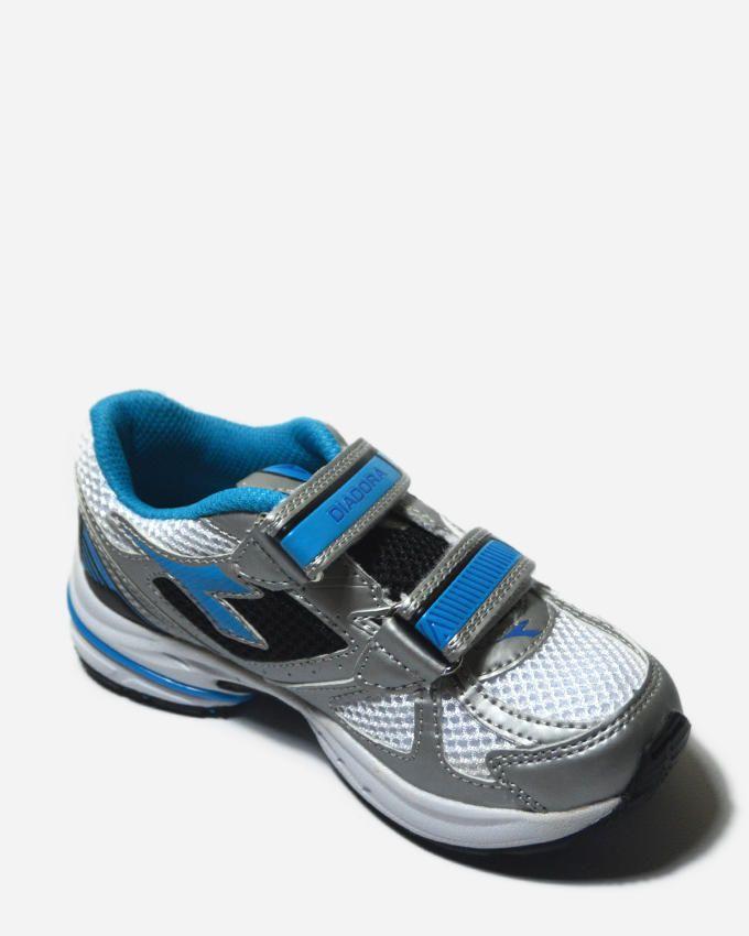 Diadora Shape 3 JR V running shoes - Grey/Blue