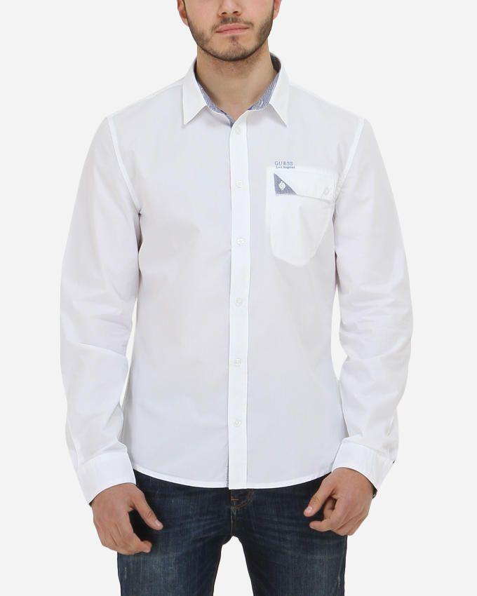Guess Ron Shirt - White