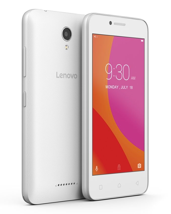 Vibe B (A2016a40) - 4.5 Dual SIM 4G Mobile Phone - White