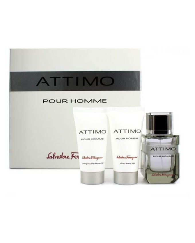 Attimo - EDT - For Men – 100 ml + Shower Gel – 50 ml + After Shave Balm - 50ml