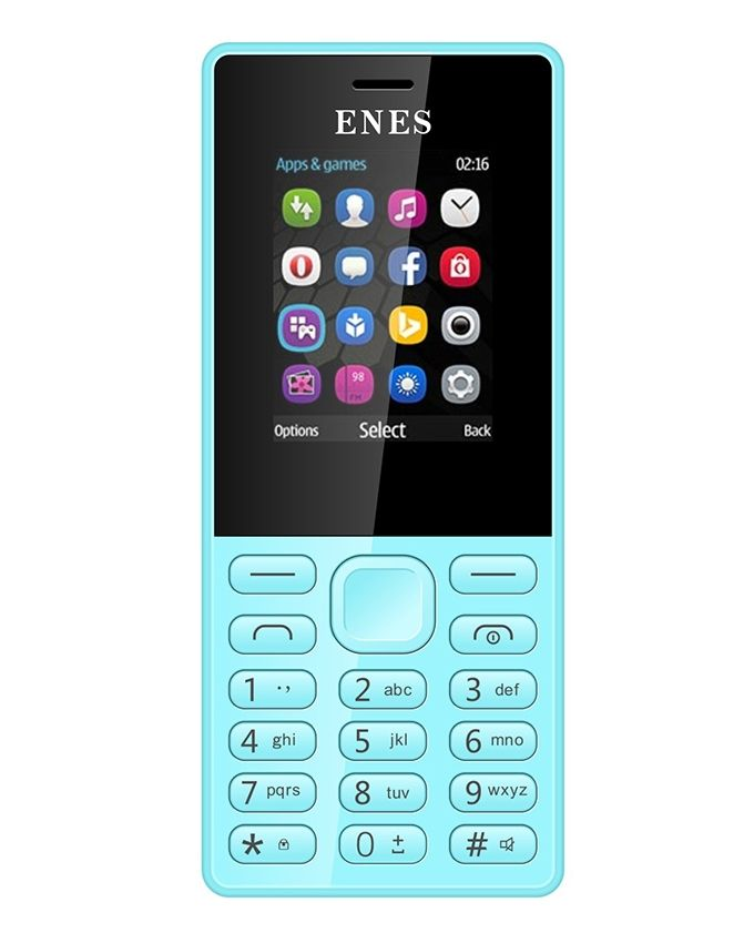 E3010 - 1.8 Dual SIM Mobile Phone - Blue