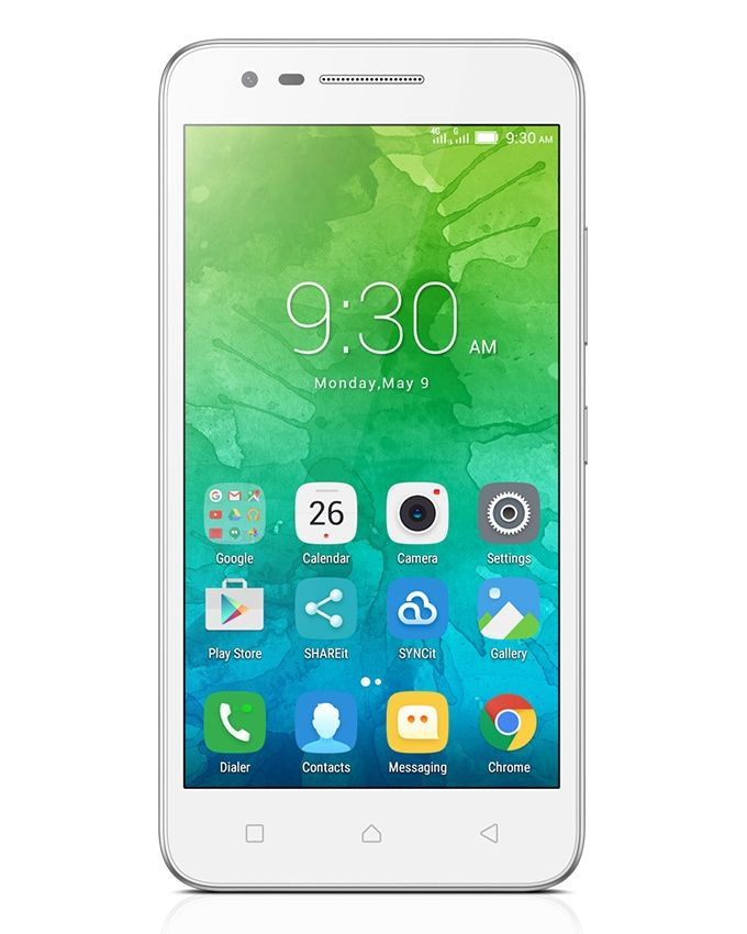 Vibe C2 Power (K10a40) - 5.0 Dual SIM 4G Mobile Phone - White