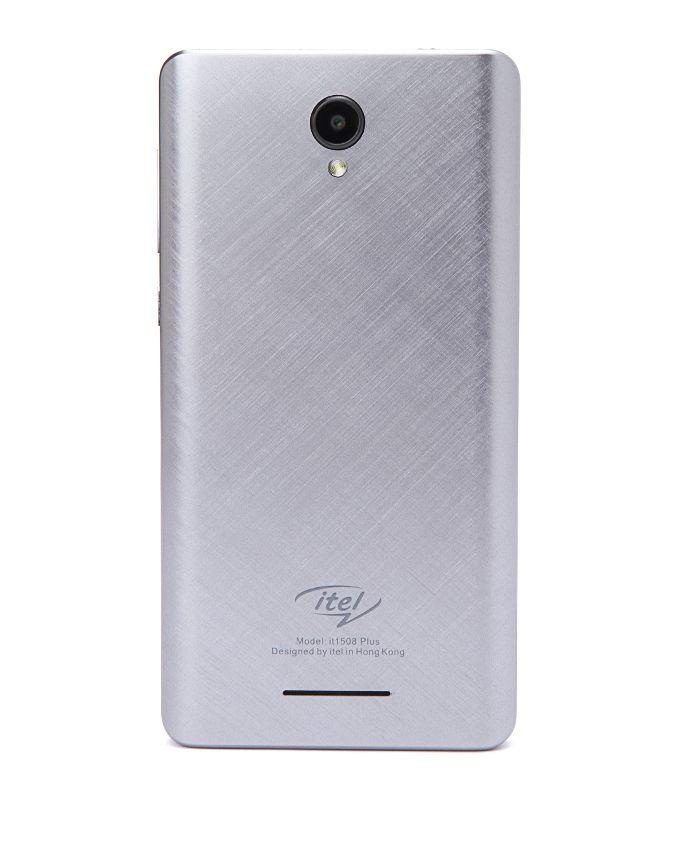 it1508 Plus - موبايل ثنائي الشريحة 5.0 بوصة - فضي