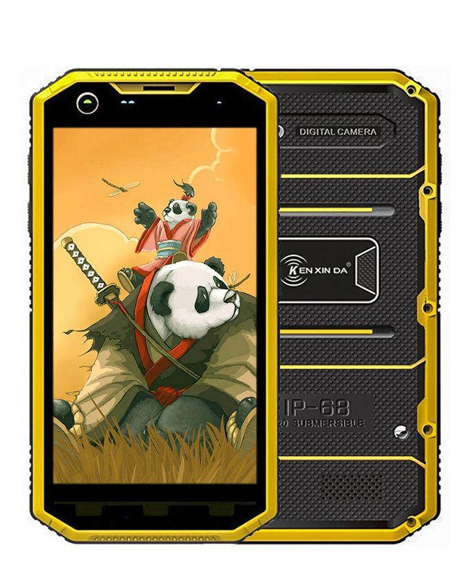 بروفنجز W8- موبايل ثنائي الشريحة 5.5 بوصة 4G - أسود/أصفر