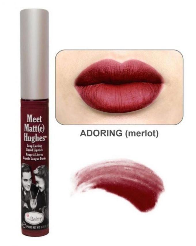 Meet Matte Hughes Long Lasting Liquid Lipstick – Adoring