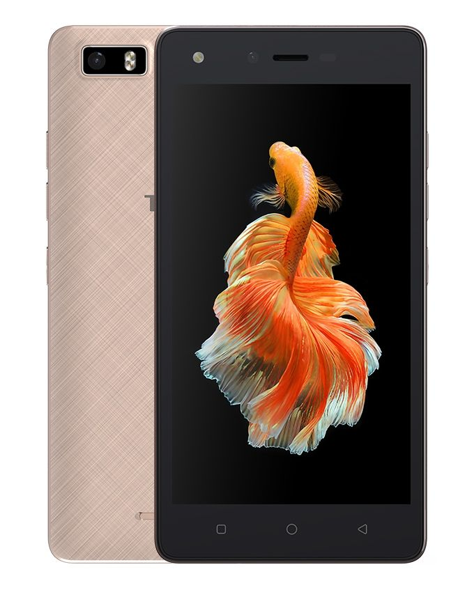 W3 - 5.0 - 4G Dual SIM Mobile Phone - Gold