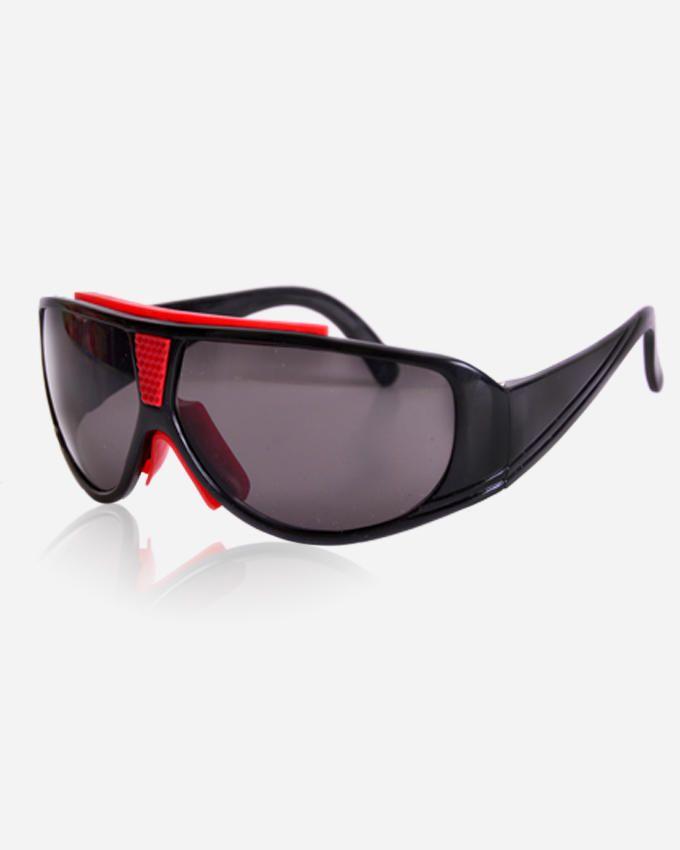 Ticomex Sports Unisex Sunglasses - Black x Red