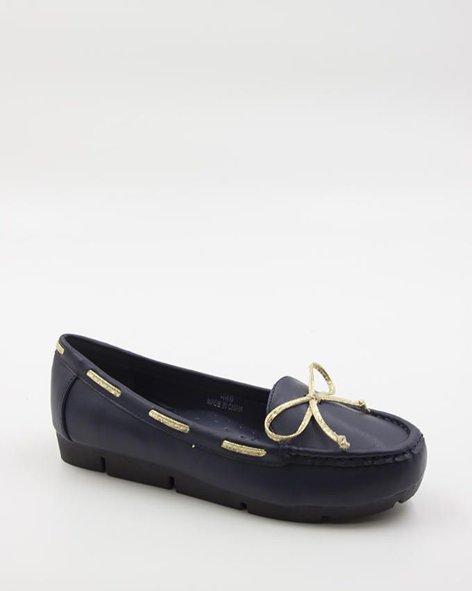 Walkies Blue PU Leather Shoes