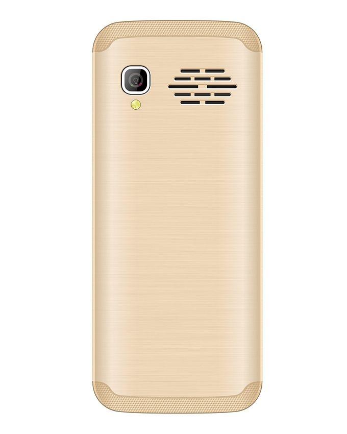 K4 - 1.77 Dual SIM Mobile Phone - Gold