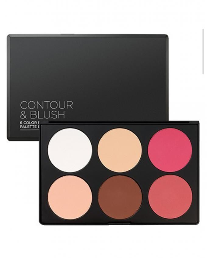 Contour & Blush Palette - 6 Colors