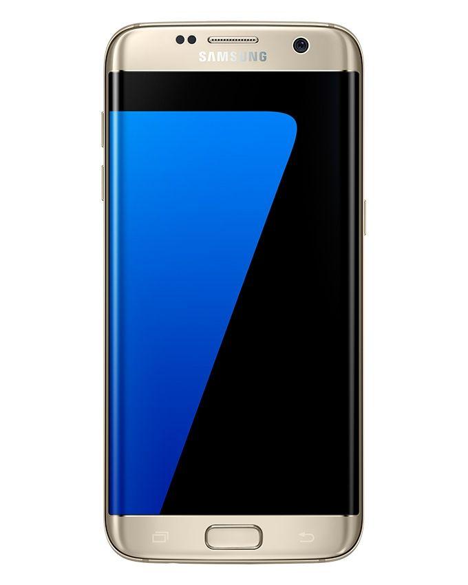جالاكسي اس 7 ايدج دوس - شاشة 5.5 بوصة - موبايل ثنائي الشريحة 32 جيجا بايت - ذهبي