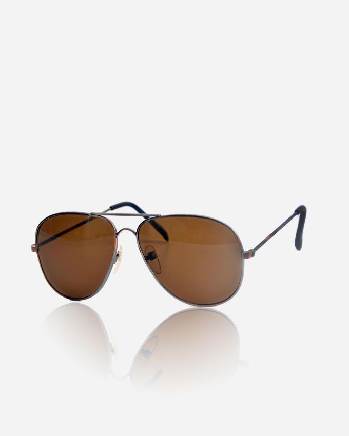 Ticomex Aviator Style men's Sunglasses - Antique Silver