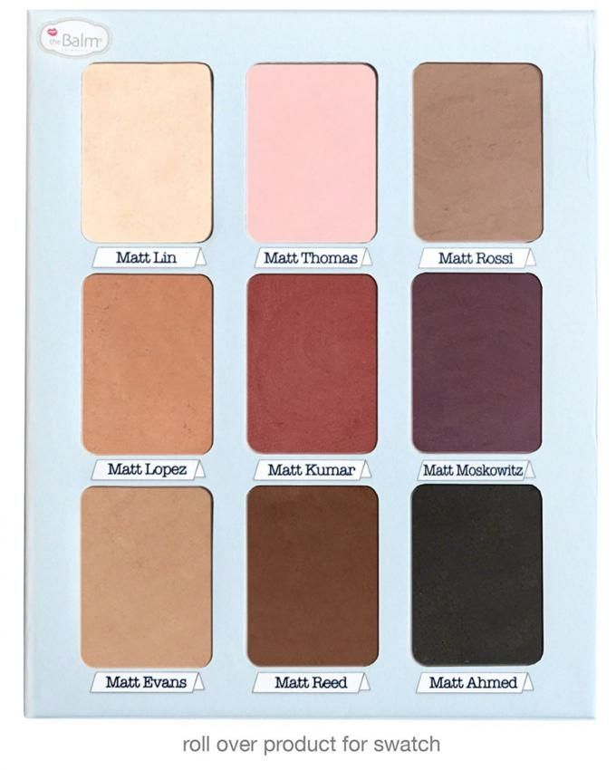 Meet Matt(E) Trimony Eyeshadow Palette - 9 Shades