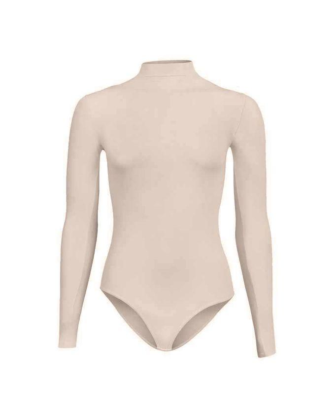 Silvy Wave High Beige Lycra Bodywear