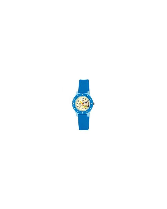 Q&Q VQ13-003 Rubber Watch for Kids - Blue