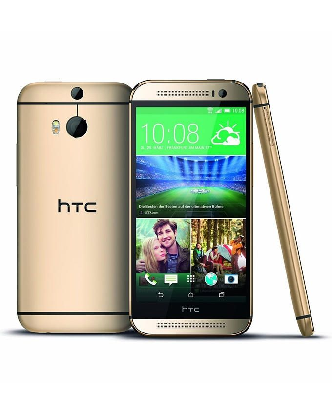 One M8 - 5 Mobile Phone - Gold