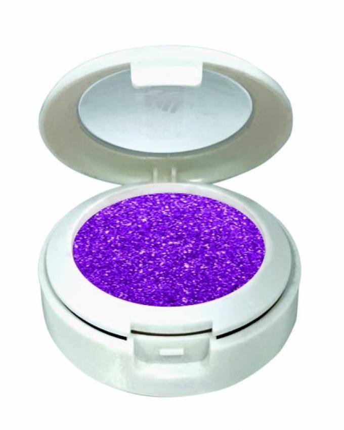 Glittery Eye Shadow - 4.5 Gm - No.6 - Violet