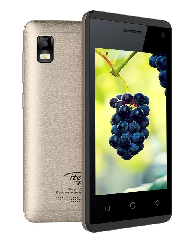 it6910 - 4.0 Dual SIM Mobile Phone - Champagne Gold