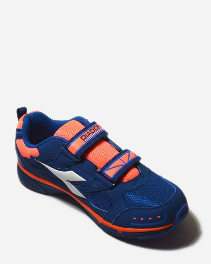 Diadora Jazzy 3 JR V Running Shoes - Navy/Orange