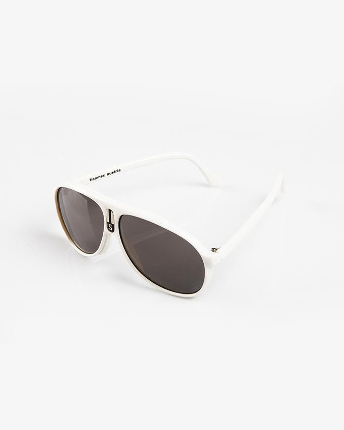 Ticomex Aviator Style Kids Sunglasses - White