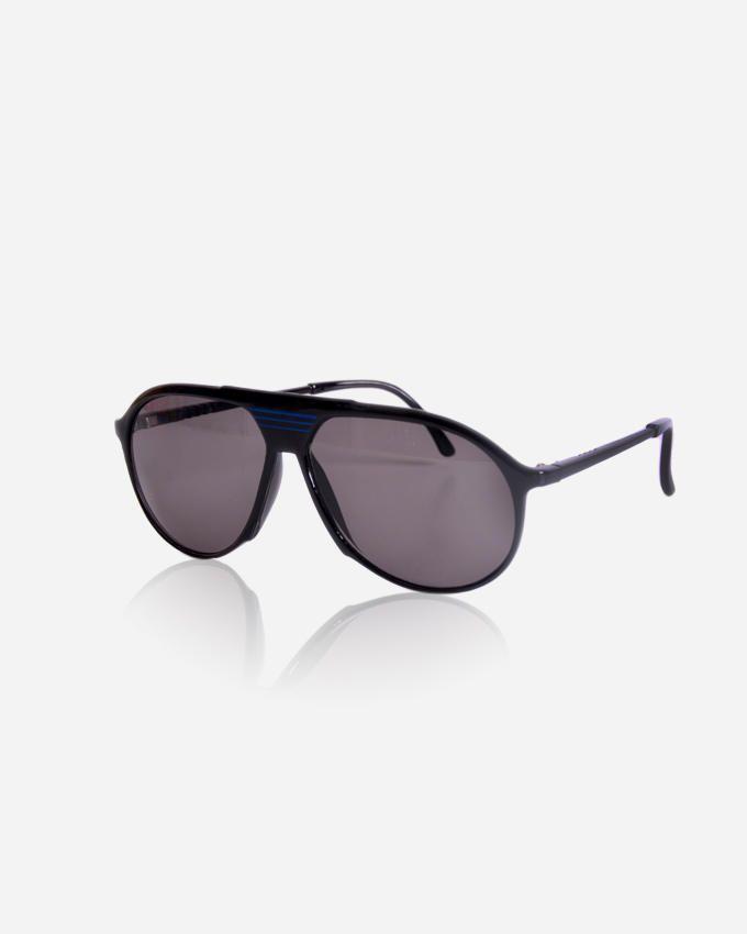Ticomex Aviator Inspired men's Sunglasses - Black x Blue