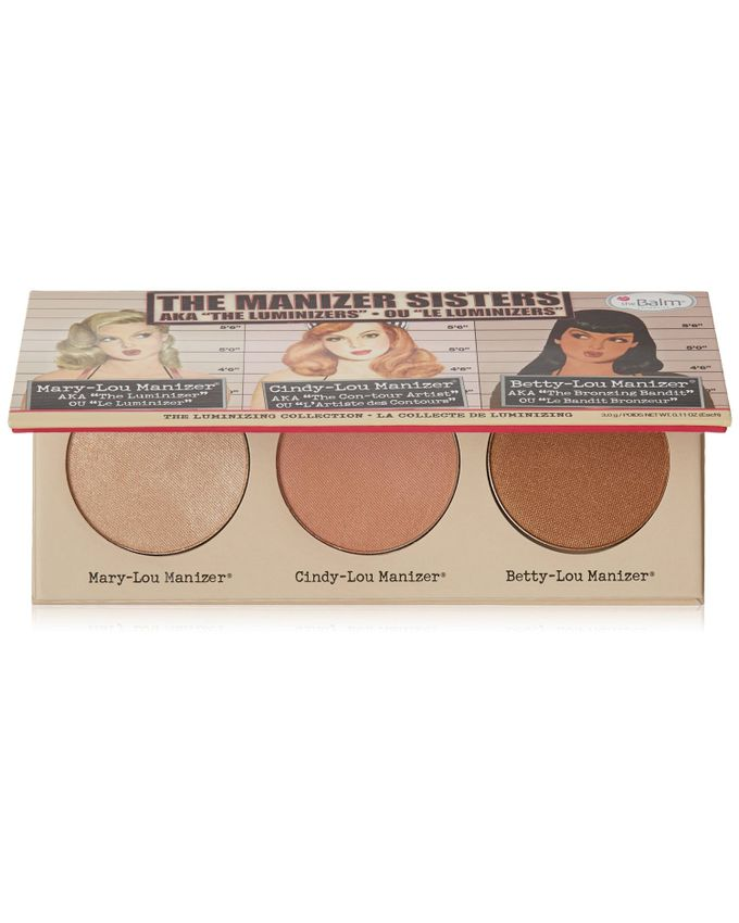 The Manizer Sisters Makeup Palette – Highlighter/Bronzer