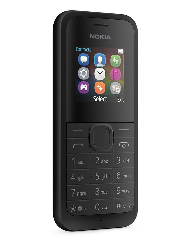 105 (2015) - 1.4 Mobile Phone - Black