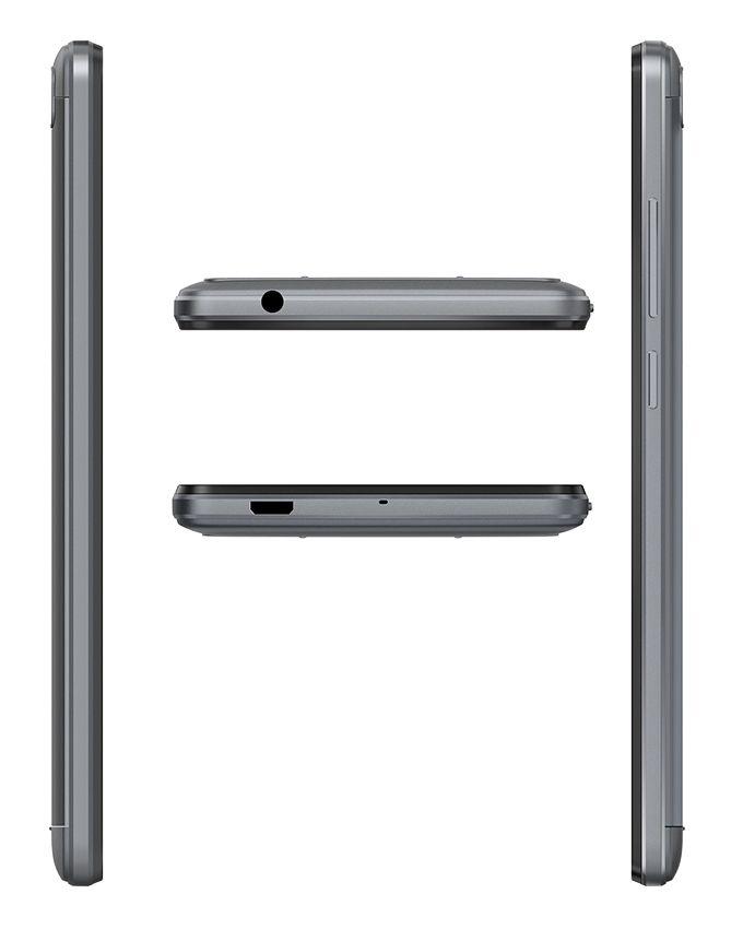 هاتف L8 Lite - 5.0 بوصة - ثنائى الشريحة - أسود