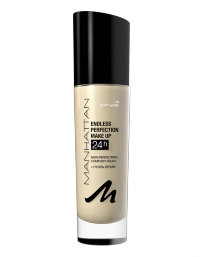 Endless Perfection Makeup - Skin Perfecting Comfort Wear – 58 Soft Ivory