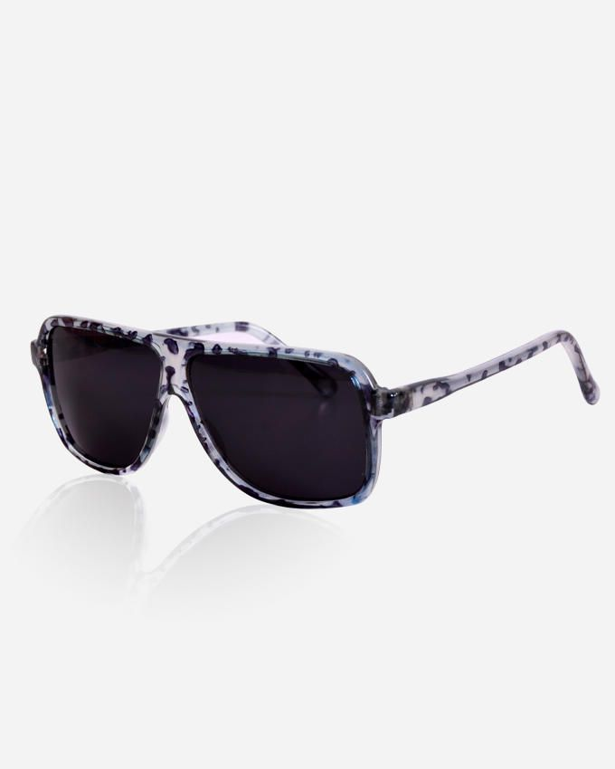 Ticomex Shield Unisex Sunglasses - Blue x Black