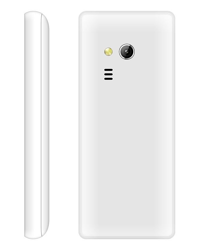 E3010 - 1.8 Dual SIM Mobile Phone - White