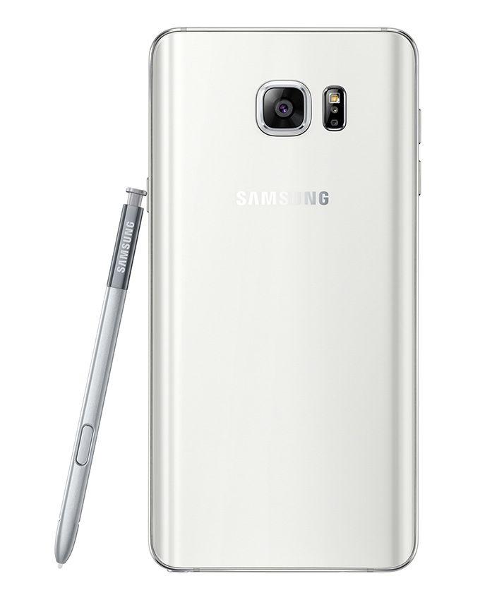 موبايل جلاكسي N920C نوت 5 دوس - 5.7 بوصة - ثنائي الشريحة 4G - أبيض