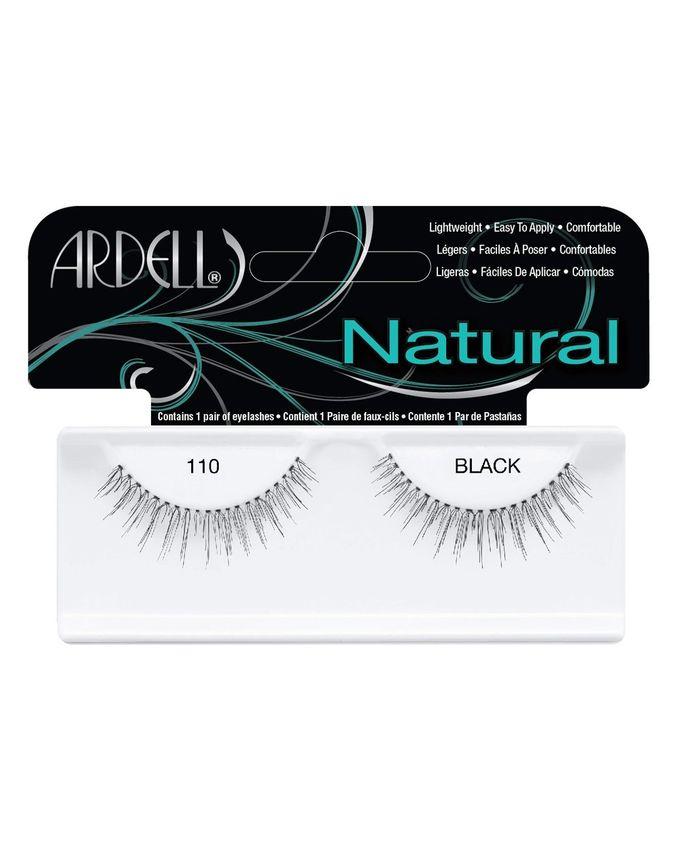 110 Natural Lashes - Black