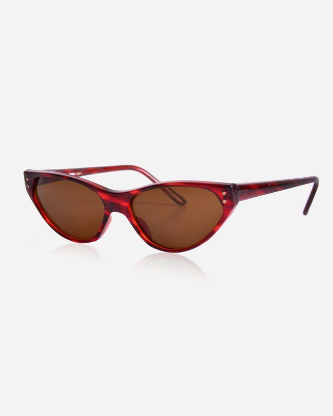 Ticomex Cateye Women's Sunglasses - Red Havana