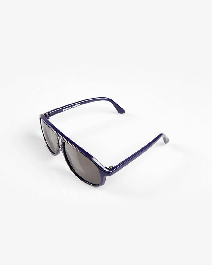 Ticomex Aviator Inspired Kids Sunglasses - Navy Blue