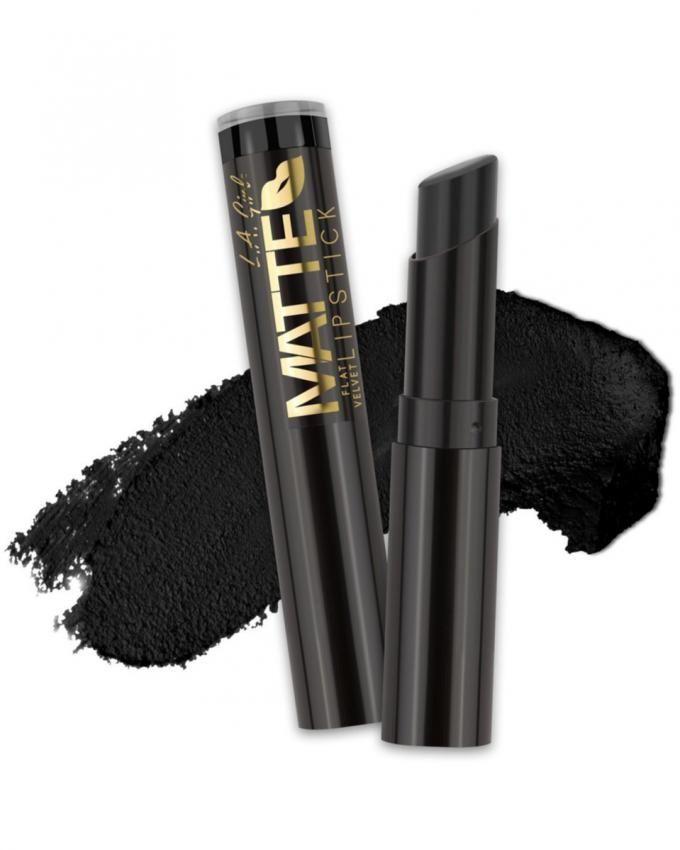 Matte Flat Velvet Lipstick - Raven