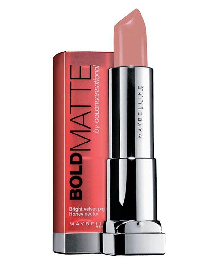 7 Color Sensational Bold Matte Lipstick - Nude Embrace